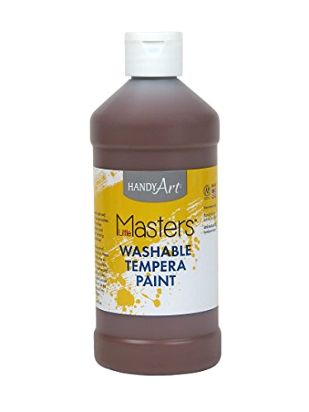 Handy Art Little Masters Washable Paint 16 ounce, Brown