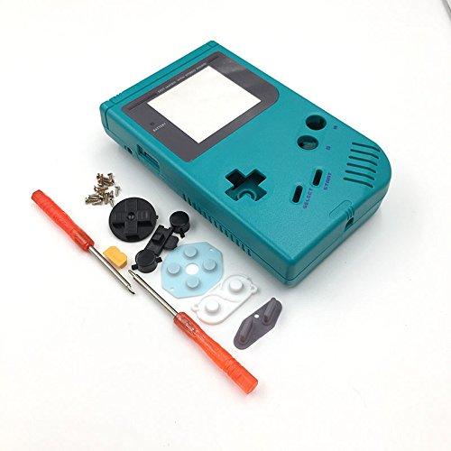 Full Housing Shell Cover + Screen Len for Nintendo DMG-01 GameBoy Gameboy Classic Original GB Teal