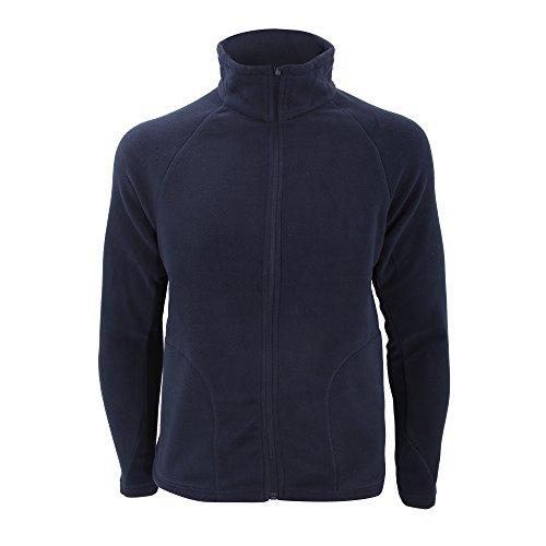 Result Micron Fleece Blouson De Sport, Bleu (Navy), XXX-Large Homme