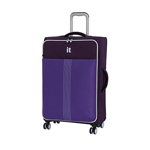 it luggage Filament 8 Wheel Lightweight Semi Expander Medium Suitcase, 70 cm, 88 L, Sky Purple