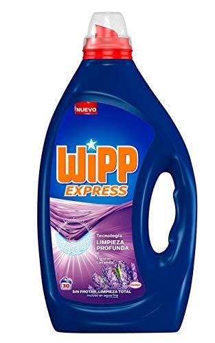 Wipp Express Detergente Líquido Lavanda - 30 Lavados (1,5L)
