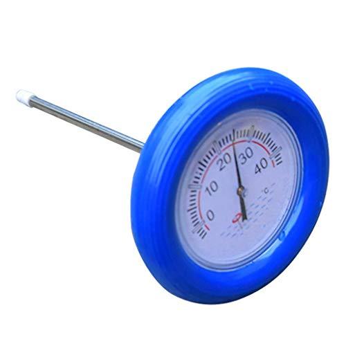dedepeng Pool Reinigungsset Pool Sonder Thermometer Sauna Scherle Großer Rundkopf Schwimm Water Detection Temperaturtester Practical Gadget