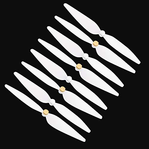YJDTYM 4 Coppie 10 Pollici elica/Adatta per RC 4K Drone Bianco Pervane Drone Blade Elica/Fit per Xiaomi Mi Drone 4K Accessori per elica 4K