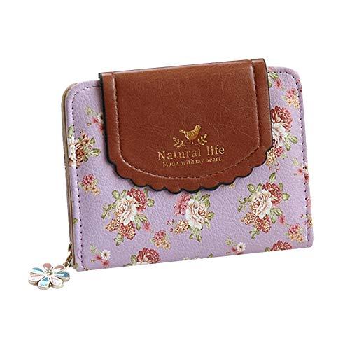 geldbörse Damen geldbörse Kosmetiktasche mit Reißverschluss Leder Herren Geldbörse Süße Mini-Geldbörse Frauen Lange Geldbörse