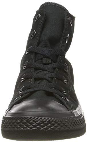Converse - Black Mono-M3310 - Zapatillas de lona de caña alta