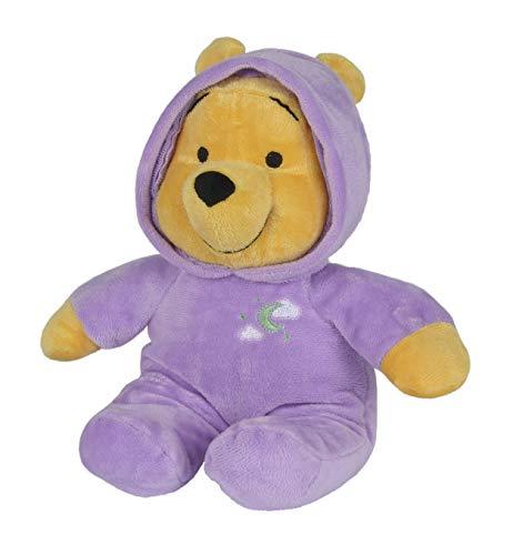 Simba 6315870962 - Disney Winnie The Puuh Plüsch Bär mit Schlummerlicht 28 cm