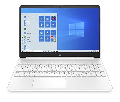 HP 15s-eq0031na 15.6 Inch Full HD Laptop - (White) (AMD Ryzen 5 3450U, 8 GB RAM, 256 GB SSD, Windows 10 Home)