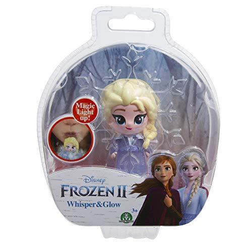 Giochi Preziosi Disney Frozen 2 Whisper and Glow Single Blister Mini Doll Elsa Travel Dress