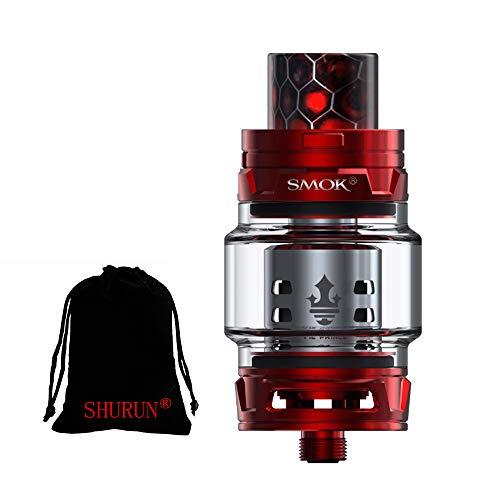 Original Smok TFV12 Prince Tank 8ml Capacity mit TFV12 Prince Coils ohne Nikotin (Rot)