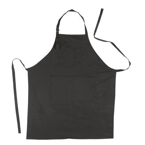eBuy GB Grembiule da Cucina, in Cotone, 70 x 85 cm, Cotone, Nero, 10