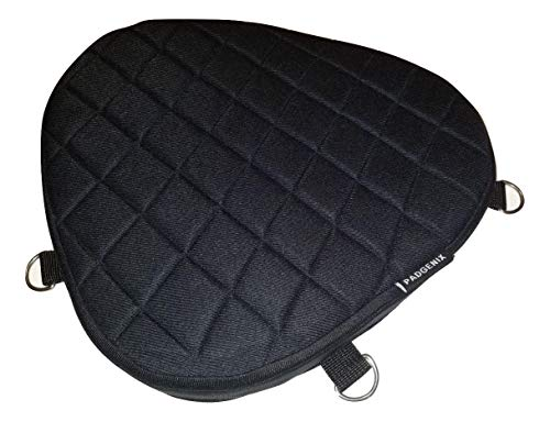 Motorcycle Driver Front Gel Pad Cushion Seat Memory Foam Padding and Shock Impact Absorption Cushioning Material fits Triumph Bonneville America