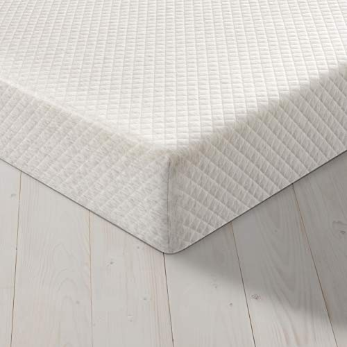 Silentnight Easy Living Memory Foam Rolled Mattress | Made in the UK |Medium |Single, White