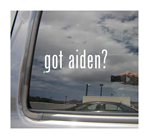 Right Now Decals - got Aiden? - Celtic Name Fiery Cars Trucks Moped Helmet Surfboard Skateboard Auto Automotive Craft Laptop Vinyl Decal Store Window Wall Sticker 15008