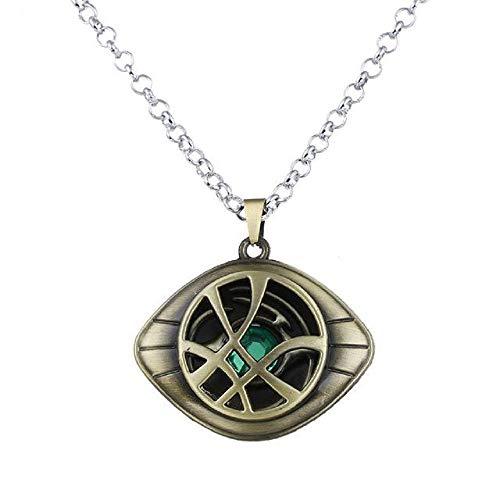 ArtkticaSupply Doctor Strange Inspired - Eye of Agamotto Necklace (Bronze)