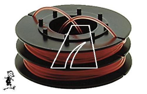 Fadenspule, Kapazität 6 m bei 1,6 mm Ø, passend für Wolf-Garten GT 845, GT 850, RQ 742, RQ 745