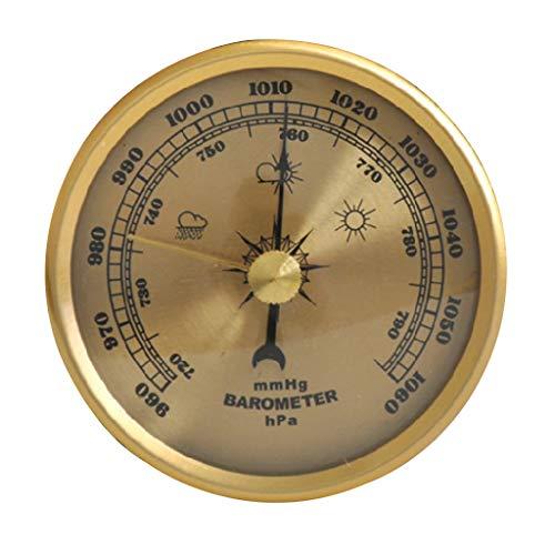 Sweo Barometer Luftdruckmessgerät Wetterstation Wandhalterung Thermometer Hygrometer Home