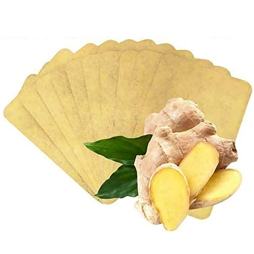 Lymphatic Detox Healing Ginger Patch, Anti-Inflammation Swelling & Easy to Use, 100% Natural Herbal Ginger for Foot Health (50 PCS)