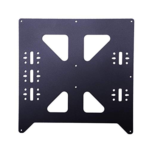 Black Aluminum Y Carriage Anodized Plate Upgrade V2 Prusa I3 V2 Hot Bed Support Plate For Prusa I3 Diy 3D Printer Parts 3D Printer