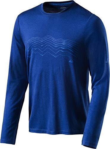 McKinley T-Shirt à Manches Longues pour Homme XXL Bleu Marine