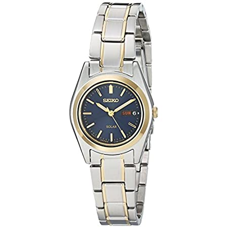 Fashion Shopping Seiko Women's SUT110 Two-Tone Stainless Steel Watch
