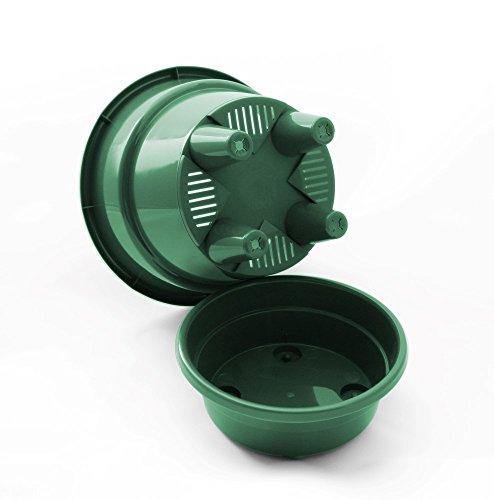 HBS Self-Watering, Deep Reservoir Round Planter Pot