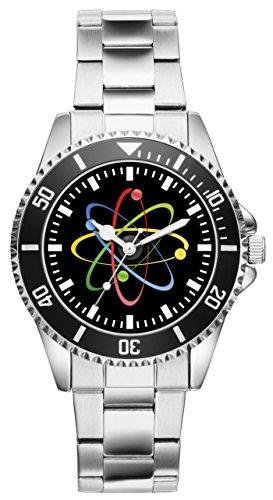 Geschenk für Physiker Kerntechniker Atomzeichen Uhr 2197