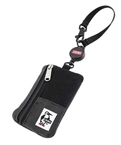 [チャムス] メンズ定期入れ Commuter Pass Case Sweat Nylon Black/Charcoal