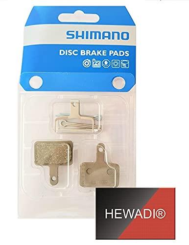 SEPIR Bremsbeläge in orginalverpackung Shimano B03S Resin Bremse, Pads Scheibenbremsbelag Fahrrad, E-Bike und Sticker von HEWADI®