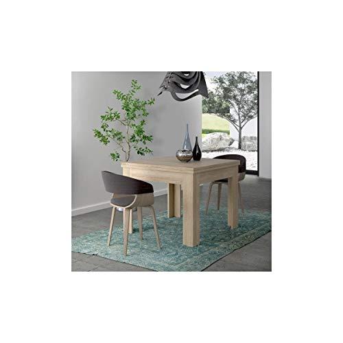 FINLANDEK Table a manger extensible NUORI 96/190x90cm décor chene clair