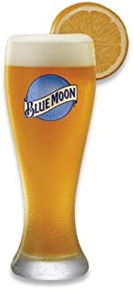 Blue Moon 16 Ounce Wheat Beer Glass Set - Set of 2