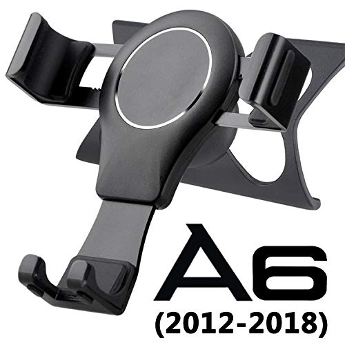 Phone Holder for Audi A6 C7 S6 A7 S7, Audi A6 Phone Holder C7 Phone Holder C7 Phone Mount Gravity Auto Lock Handsfree Easy Mount Audi A6 Accessories S6 Audi A7 Accessories S7 2012 2018