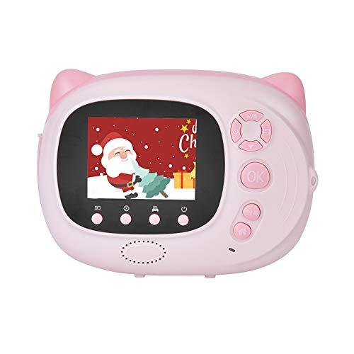 Exliy 2 en 1 24MP Cámara Digital para niños e Impresora de Fotos instantánea, cámara Digital Regalos de cumpleaños para niñas para niños de 4 a 13 años, videocámara para niños Grabadora de Video