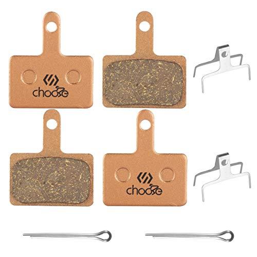 Chooee 2 Pares Pastillas de Freno para Shimano B01S M315 M355 M365...