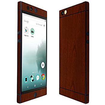 Skinomi Dark Wood Full Body Skin Compatible with Nextbit Robin  Full Coverage  TechSkin with Anti-Bubble Clear Film Screen Protector