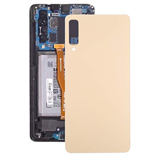 un known Tapa trasera de batería para Galaxy A7 (2018), A750F/DS, SM-A750G, SM-A750FN/DS accesorio de mantenimiento personal (color: dorado)