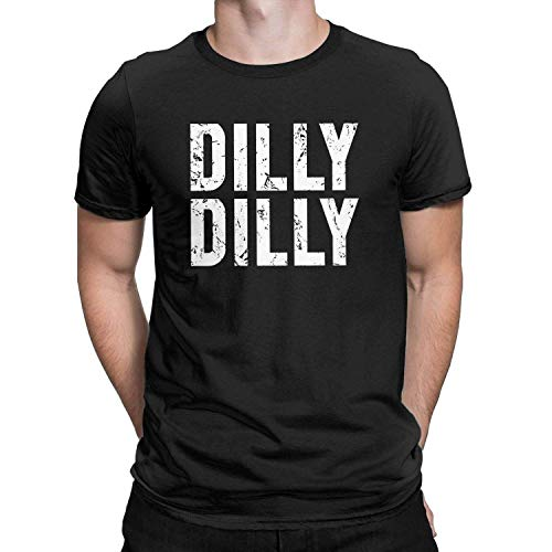 Vintage Retro Dilly Dilly-T-Shirt Pit of Misery Bier-Trinken Tees Tops Männer, 5X-Large, Schwarz