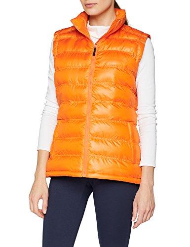 Resultado de la Mujer r193F Ice Bird Acolchado Chaleco, Mujer, Color Naranja, tamaño XS/Talla 8