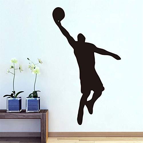 Wandtattoo Kinderzimmer Wandtattoo Wohnzimmer Hinterhof-Basketball für Kinderzimmer Kinder dekorative Inneneinrichtungen für Schlafzimmer Dekoration