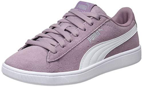 Puma Puma Vikky V2, Damen Sneakers, Violett (Elderberry-White-Puma Silver), 36 EU (3.5 UK)