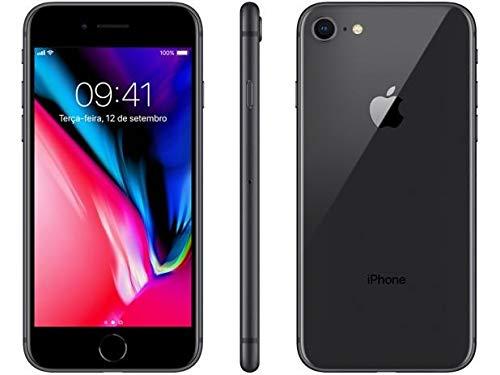 "iPhone 8 Cinza Espacial 4,7"" 4G 64gb 12 Mp - Mq6g2br/a"