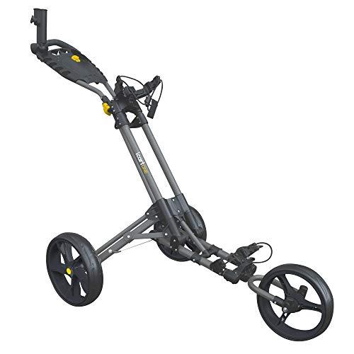 Masters Golf - iCart One - 3 Wheel Push Trolley Grey/Black