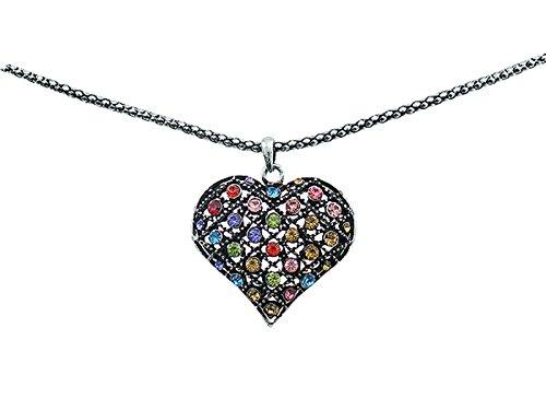 scarlet bijoux | Kette mit Anhänger Multicolor