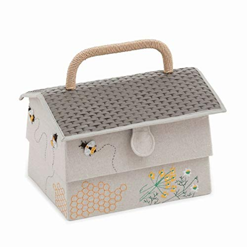 Hobby Gift Premium Novelty 'Bee Hive' Sewing Box 19 x 29 x 19cm (d/w/h)