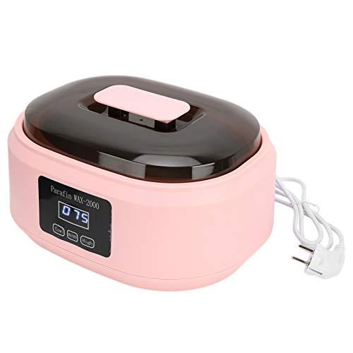 Haut Feuchtigkeitsspendende Wachstherapie Wachsmaschine Elektrische Wachsheizung Paraffinwärmer für Füße Handpflege für Frauen für Schönheit zur Haarentfernung(220V,...