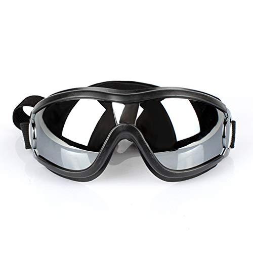 Huisdier zonnebril waterdichte winddichte zonnebril met verstelbare bandjes geschikt voor middelgrote en grote honden