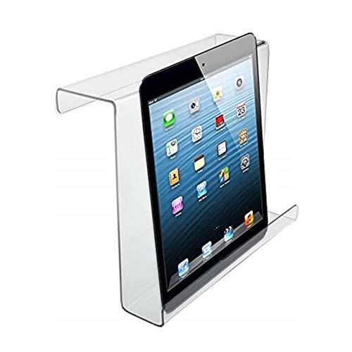 winnerruby Soporte Universal para Tablet Fibra acrílica, para iPad, el Manillar en un Ciclo de Entrenamiento estático es de 9.06 x 3.98 x 7.99 Pulgadas