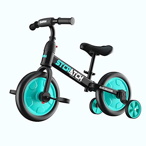 LINQ Scooter de Balance Infantil - Scooter, Partes Desmontables, Cuatro en un automóvil de Juguete Multifuncional, Cuidado para el Crecimiento de su bebé