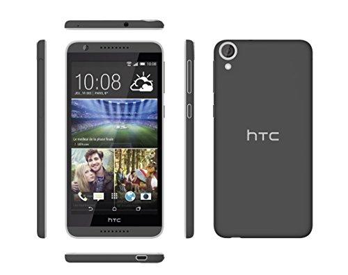 HTC Desire 820 Smartphone débloqué 4G (Ecran: 5,5 pouces - 16 Go - Simple SIM - Android 4.4 KitKat) Blanc/Bleu