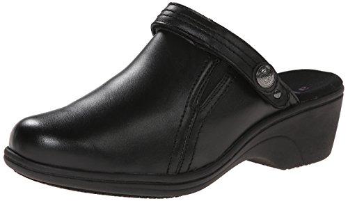 Aravon Women's Holly AR Slip Resistant Work Shoe,Black,6 B US