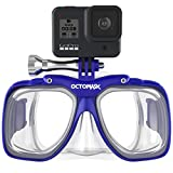 OCTOMASK - Dive Mask w/Mount for All GoPro Hero Cameras for...